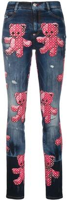 Philipp Plein Teddy Bear jeans