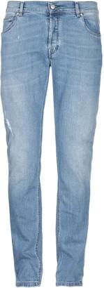 Grey Daniele Alessandrini Denim pants