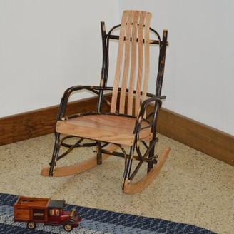 Loon Peakâ® Wisser Hickory Child Rocking Chair Loon PeakA Frame Color: Natural