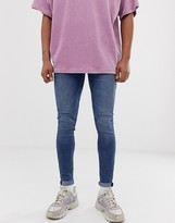 Cheap Monday him spray super skinny jeans in skate blue