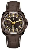 Rado Men's Hyperchrome 1616 Automatic Leather Strap Watch, 46Mm