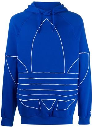 adidas Big Trefoil Outline hoodie