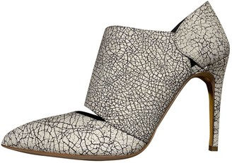 Rupert Sanderson White Exotic leathers Ankle boots