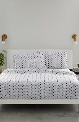 Marimekko Kukkaketo 200 Thread Count Cotton Sheet Set