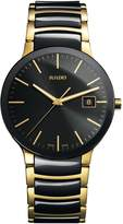 Rado Men's R30929152 Centrix Analog Display Quartz Two Tone Watch