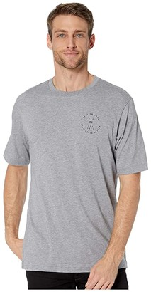 Travis Mathew TravisMathew Bodega T-Shirt (Heather Grey) Men's Clothing