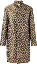 DSQUARED2 jaquard flower coat - men - Cotton/Polyamide/Polyester - 50