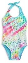 Pilyq Girls' Rainbow Lace Swimsuit - Little Kid, Big Kid