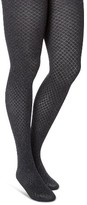 Merona Women's Maternity Tights Diamond Texture Heather Gray