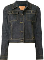 Louis Vuitton pre-owned long sleeve denim jacket