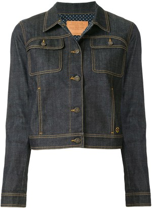 Louis Vuitton Pre Owned long sleeve denim jacket