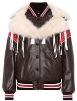 Coach Dream Catcher leather jacket