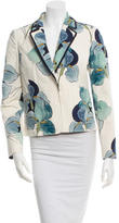 Tory Burch Floral Woven Blazer