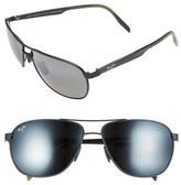 Maui Jim 'Castles - PolarizedPlus ® 2' 61mm Aviator Sunglasses