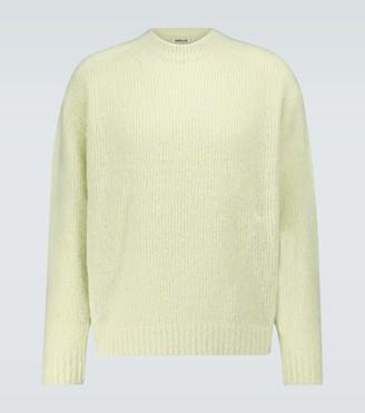 AURALEE Alpaca-blend knitted sweater