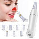 Suction Nose Acne Blackhead Instrument, Microdermabrasion Dermabrasion Vacuum Extraction Peeling Tool Tightening Facial Skin Beauty Salon Device
