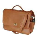 "ROYCE New York Genuine Leather Executive 15"""" Laptop Briefcase Bag."