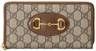 Gucci 1955 Horsebit Zip Around Wallet