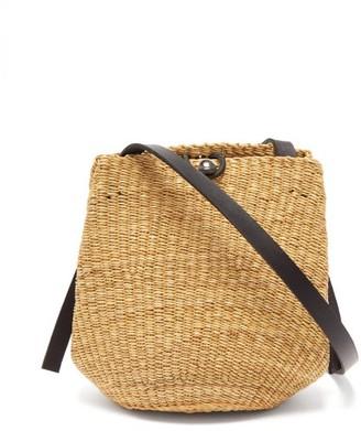 Ines Bressand - N.23 Woven Shoulder Bag - Black Multi