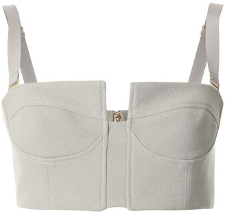 Dion Lee Column Bustier Cropped Top