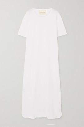 LOULOU STUDIO Arue Supima Cotton-jersey Maxi Dress - White