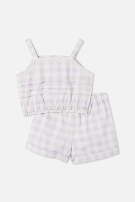 Cotton On Estelle Cropped Pyjama Set