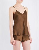 Nk Imode Living-wear silk-satin pyjama camisole