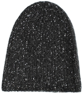 White + Warren Cashmere Donegal Beanie