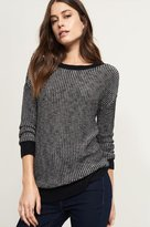 Dynamite Knitted Sweater With Back Detailing