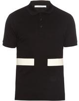 Givenchy Cuban-fit Stripe-appliqué Cotton Polo Shirt