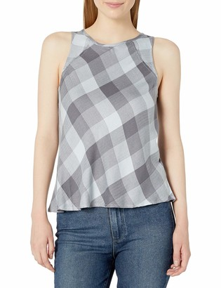 Olive + Oak Olive & Oak Women's Tonal Plaid Tank