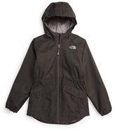 The North Face Girl's Sophie Hooded Rain Parka
