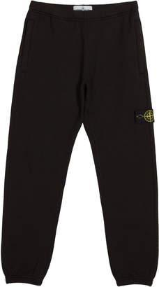 Stone Island Cotton Sweatpants w/ Reflective Tape Trim, Size 2-6