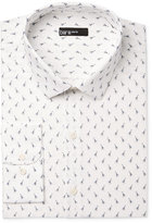 Bar III Men's Slim-Fit Bee-Print Dress Shirt, Only at Macy's