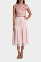 Beaded/Sequin Bodice Dress with Tulle Skirt