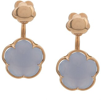 Pasquale Bruni 18kt rose gold Bon Ton chalcedony earrings