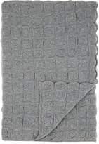 Barneys New York Galia Box-Pattern-Knit Cashmere Throw