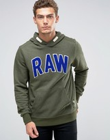 G Star G-Star Warth Raw Applique Hoodie