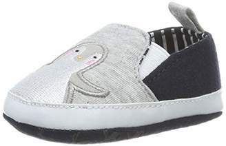 Joules Baby Boys' Littleton Birth Shoes, (Grey Penguin Grypenguin), (XL EU)