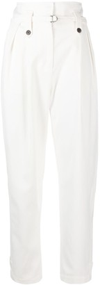 IRO High-Waisted Belted Trousers