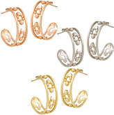 Disney Mickey Mouse Hoop Earrings - 14K