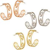 Disney Mickey Mouse Hoop Earrings - 18K