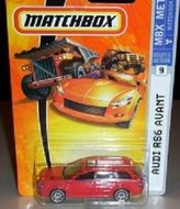 Mattel Matchbox 2007 MBX Metal 1:64 Scale Die Cast Car # 9 - Metallic Grey Station Wagon Audi RS6 Avant