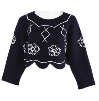 Christian Dior Blue Wool Knitwear