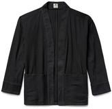 SASQUATCHfabrix. Sashiko-Stitched Cotton Hanten Jacket
