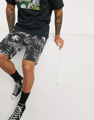 Levi's tapered fit chino shorts in archie mineral green