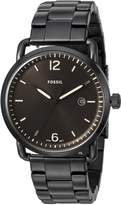 Fossil Men's FS5277 The Commuter Three-Hand Date Stainless Steel Watch