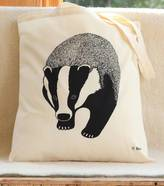 Bird Badger Print Tote Bag