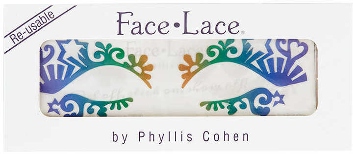Topshop Face Lace - Rainbow Eye Lace