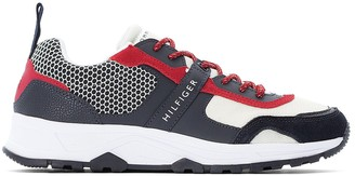 Tommy Hilfiger Material Mix LightWeight Runner Trainers